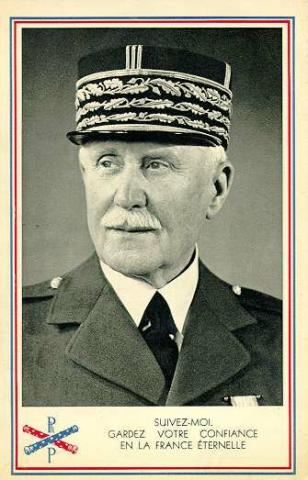 Marshal Philippe Petain - President of Vichy France Social Studies Biographies Famous People Law and Politics World History World War I