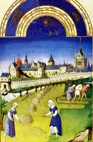 Book of Hours - June History Medieval Times Social Studies World History Visual Arts