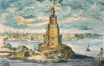 Pharos Lighthouse at Alexandria