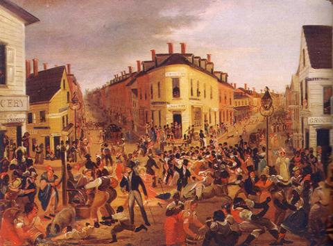 Five Points New York's Most Notorious Slum Neighborhood in 1827