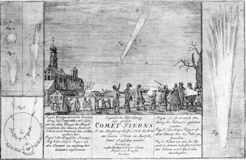Observing the Night Sky in 1744 Astronomy Visual Arts Aviation & Space Exploration STEM