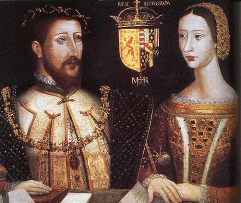 James V and Mary of Guise - Parents of Mary Stewart Biographies Famous People Social Studies Visual Arts