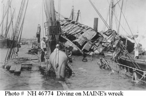 USS Maine Wreck American History Awesome Radio - Narrated Stories Social Studies Disasters