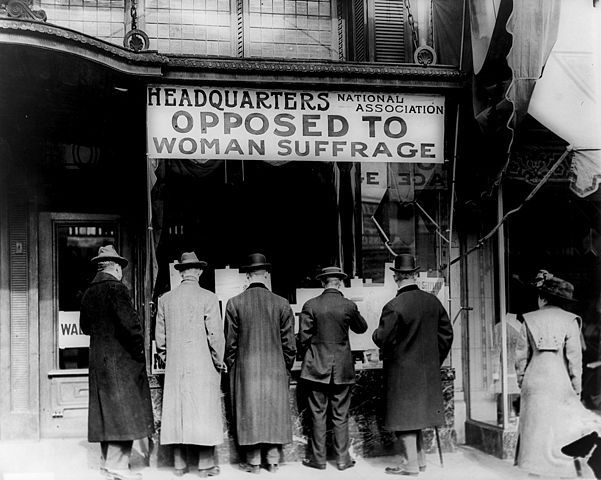 a discussion on womens suffrage movement Beginning of women's suffrage movement seneca falls convention for the women's rights movement and for what a discussion of.