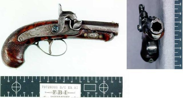 Derringer Used To Kill President Lincoln