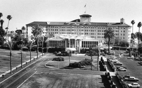 Ambassador Hotel - Front View Visual Arts Famous Historical Events The Kennedys