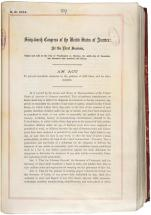 Act of Congress - First Child-Labor Law