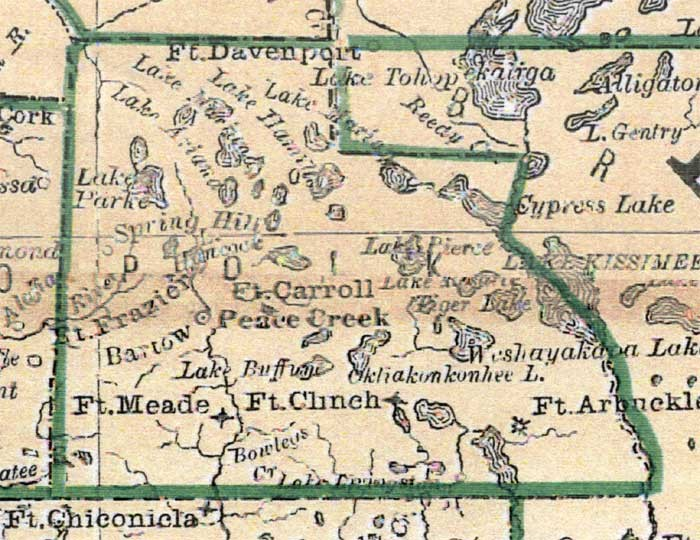 Map Of Polk County Florida.Polk County Florida Students Write About Polk County