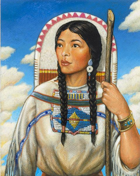 Night At The Museum Sacagawea Teen Interpreter