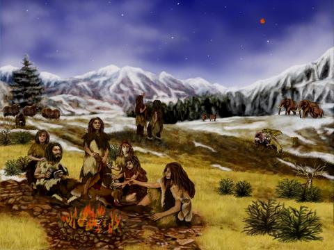 NEANDERTHALS and FIRE