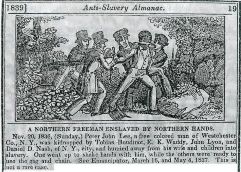 Northern Black Freemen Enslaved by White Northerners American History African American History Civil Rights Ethics Nineteenth Century Life Social Studies Slaves and Slave Owners Famous Historical Events