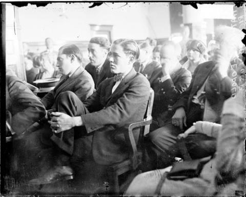 Leopold and Loeb - Courtroom Scene at Trial American History Film History Social Studies Ethics Crimes and Criminals Trials