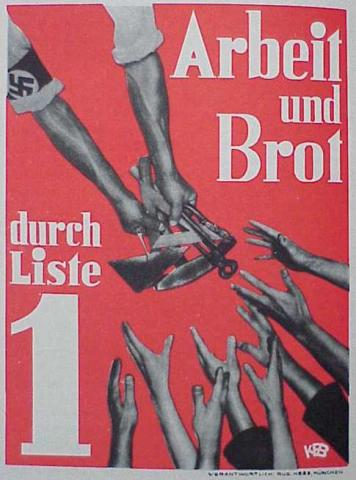 1932 Election Poster World History Visual Arts Social Studies Tragedies and Triumphs