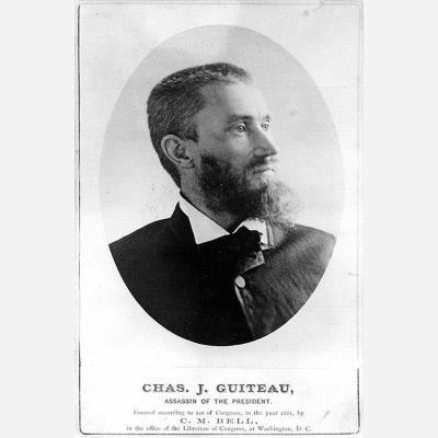 Guiteau and the Assassination of President Garfield (Illustration) Biographies Social Studies Famous Historical Events Trials American Presidents Assassinations American History