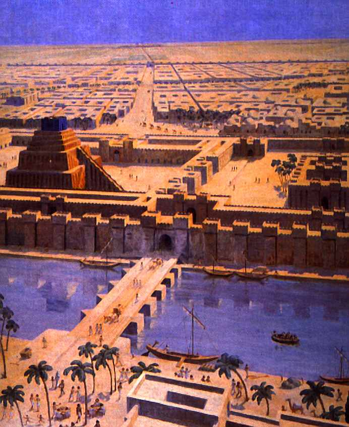 The ancient city of Babylon  where Alexander the Great died  was    Babylon City Walls