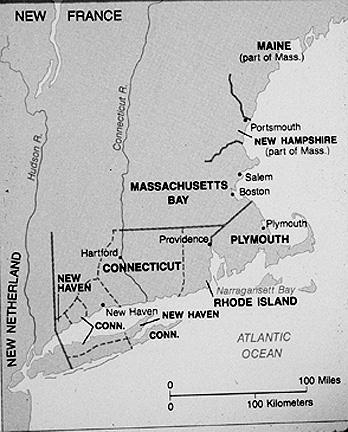 Map  Rhode Island