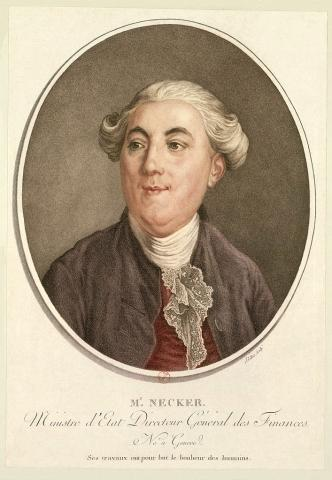 Jacques Necker - Minister of Finance, 1789 Social Studies World History Visual Arts