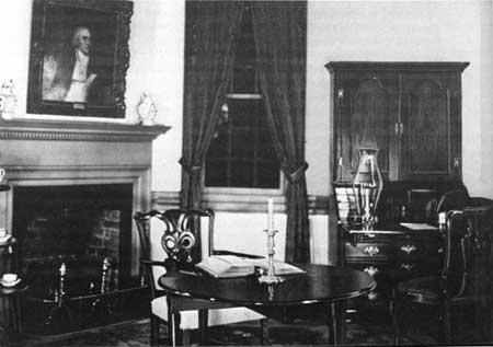 Surrender Room at the Moore House, Yorktown