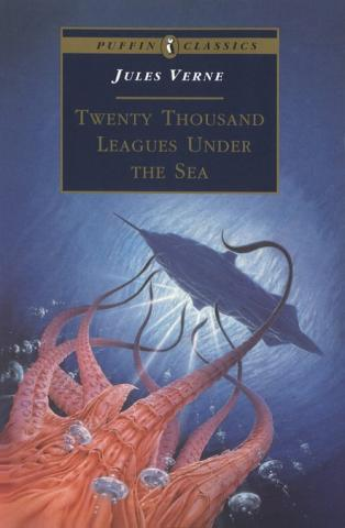 Twenty Thousand Leagues Under the Sea - by Jules Verne Fiction Nineteenth Century Life Visual Arts