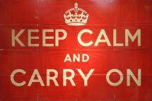 WWII - Keep Calm and Carry On