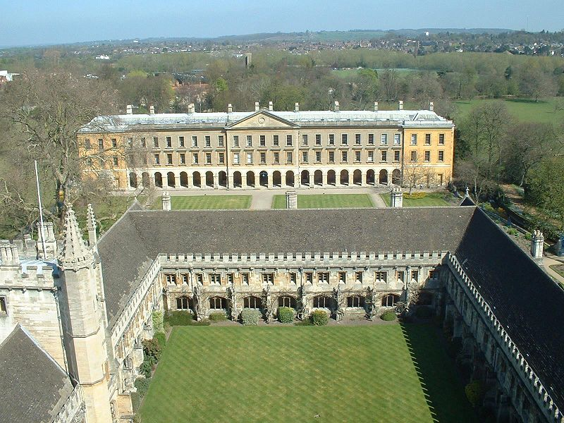 C.S. Lewis - Magdalen College, Oxford