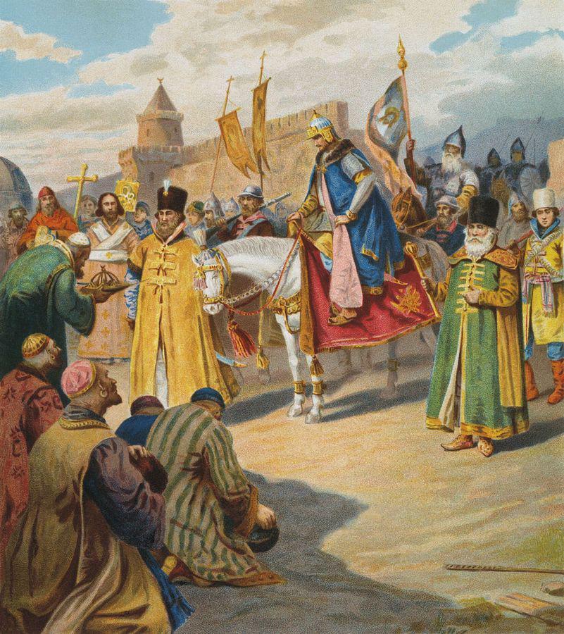 Титул ивана iii в 1490 2212х годах состоял их девяти наименований (три на три)