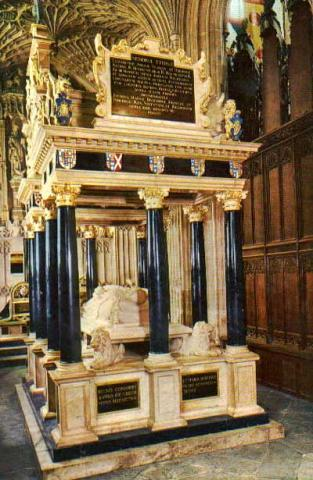 Queen Elizabeth I - Tomb at Westminster Abbey Biographies Famous Historical Events Famous People Social Studies World History