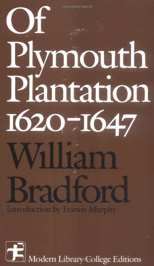Essays on of plymouth plantation by william bradford