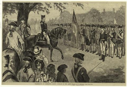 George Washington-Taking Control at Cambridge