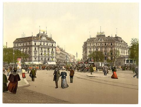 Potsdam Square Between 1890 and 1905 Visual Arts Geography Social Studies World History
