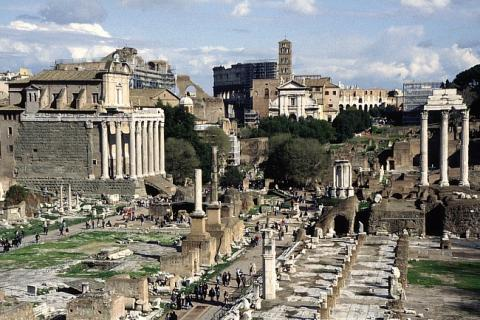 Roman Forum - Remaining Ruins Archeological Wonders Social Studies Ancient Places and/or Civilizations Geography