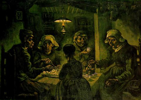 The Potato Eaters - Vincent's First Masterpiece Social Studies Tragedies and Triumphs Nineteenth Century Life Visual Arts