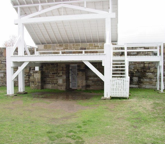 Gallows at Ft. Smith