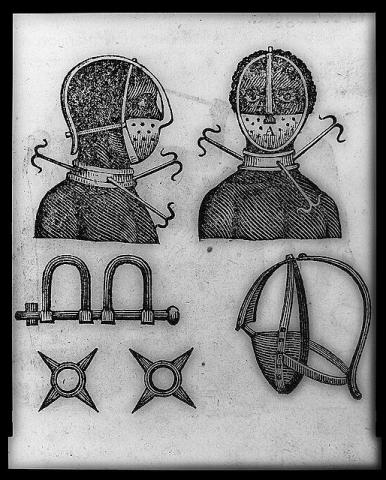 Facemask Device - Slave Trade Civil Rights Famous Historical Events Slaves and Slave Owners Social Studies World History Tragedies and Triumphs