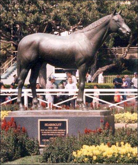 Seabiscuit Memorial At Santa Anita