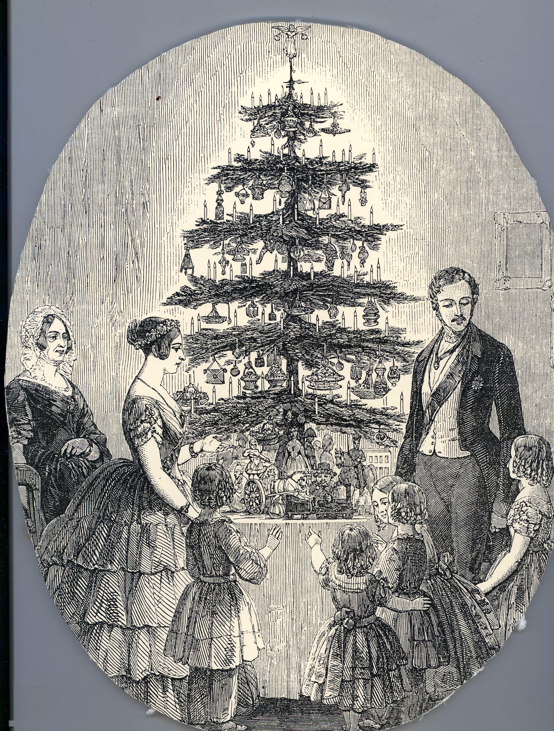 christmas with victoria and albert in 1848. Black Bedroom Furniture Sets. Home Design Ideas