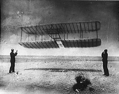 Wright Brother's Glider - Photo American History Aviation & Space Exploration STEM Tragedies and Triumphs