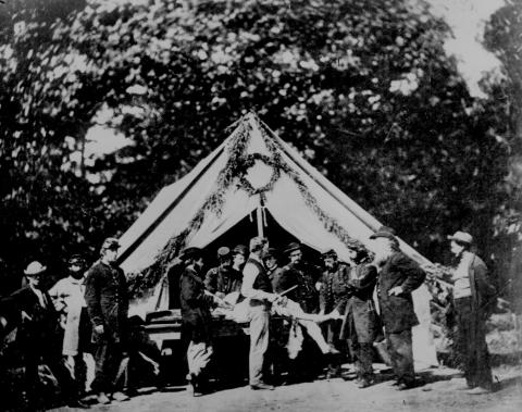 Amputations at the Field Surgical Tent American History Civil Wars Social Studies Tragedies and Triumphs Nineteenth Century Life