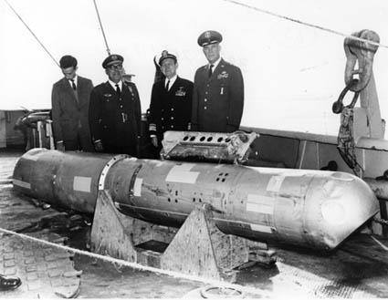 Visible Damage Observed on the Recovered Bomb