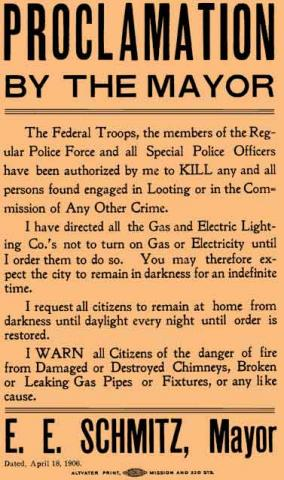 Mayor's Shoot-To-Kill Order in 1906 American History Famous Historical Events Ethics Disasters