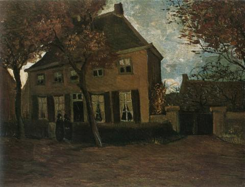Vicarage at Nuenen - van Gogh Painting Geography Social Studies Tragedies and Triumphs Visual Arts Nineteenth Century Life