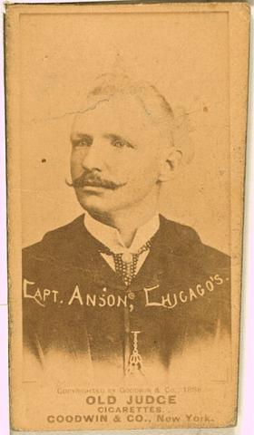 Cap Anson American History Famous People Social Studies Sports Visual Arts