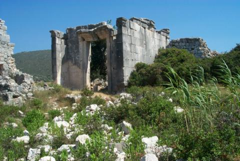 Ruins of Patara Fiction History Social Studies World History Ancient Places and/or Civilizations