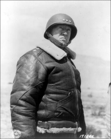 George S. Patton, Jr. American History Famous People World War II Visual Arts