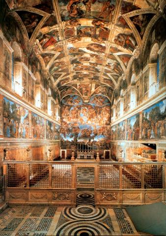 Sistine Chapel - A View from the Inside Philosophy Visual Arts