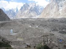 Baltoro Glacier and Stunning Mountain Peaks