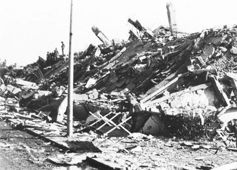 Destroyed Marine Barracks - Beirut, 23 October 1983 Tragedies and Triumphs Famous Historical Events Social Studies