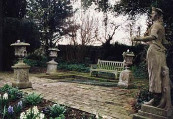 Garden at the Home of Virginia Woolf Famous People Geography