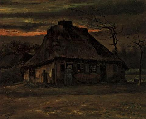 The Cottage - van Gogh Painting Tragedies and Triumphs Visual Arts Nineteenth Century Life