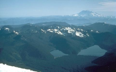 Spirit Lake near Mount St. Helens Famous Historical Events Geography STEM Disasters